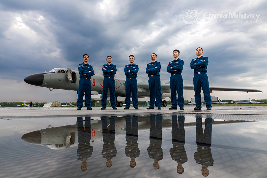 Chinese Air Force aircraft arrive in Russia for 'Aviadarts-2018