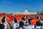 Destroyer Haikou protects global waterways and China's sovereignty, builds ties with rest of the world