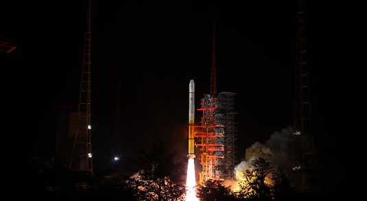 China launches satellite to benefit Belt and Road countries