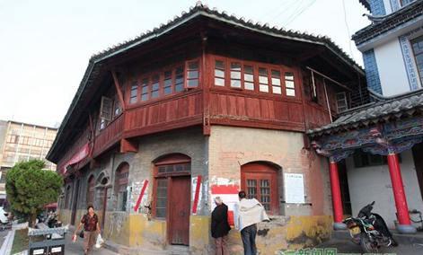 "One of ""Top Ten Historical Buildings"" in Pu'er -- Ning'er Mohei Zouma Corner Building"