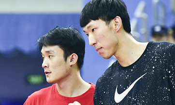 Zhou Qi, Ding Yanyuhang get NBA approval to compete in Asian Games