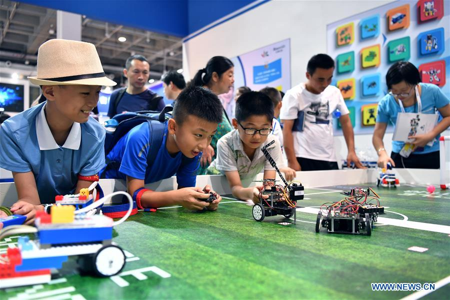 In pics: World Robot Conference 2018 in Beijing