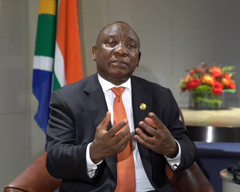 Sino-African cooperation results in win-win outcomes: South African President