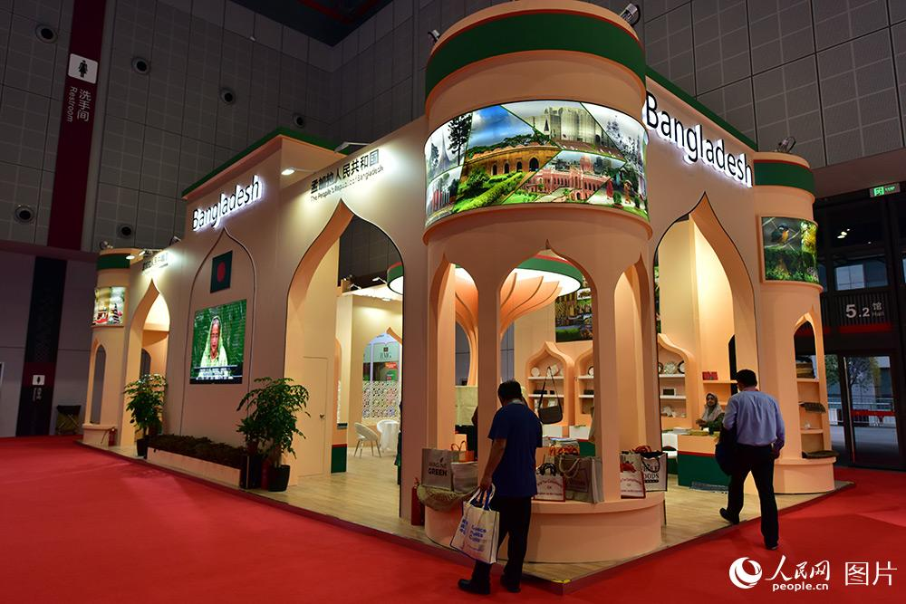 A Glimpse of the CIIE Country Pavilion