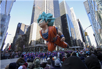 Millions brave frigid cold to watch Thanksgiving parade in NYC