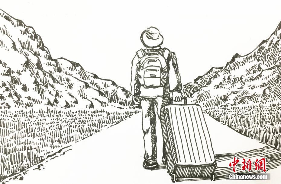 College student tells the stories of future geologists through illustration
