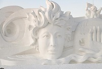 NE China'sl Snow Sculpture Art Expo