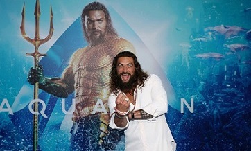 """Aquaman"" tops North American box office for third weekend in a row"