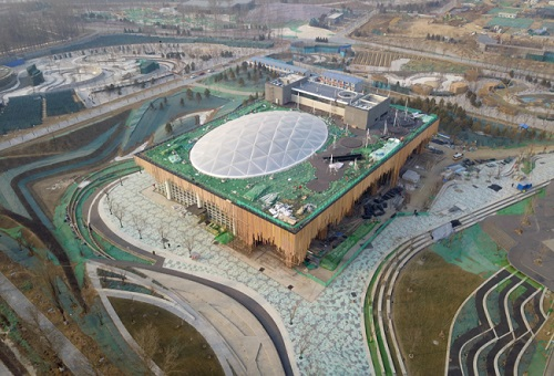 Construction on Beijing horticultural expo site completed
