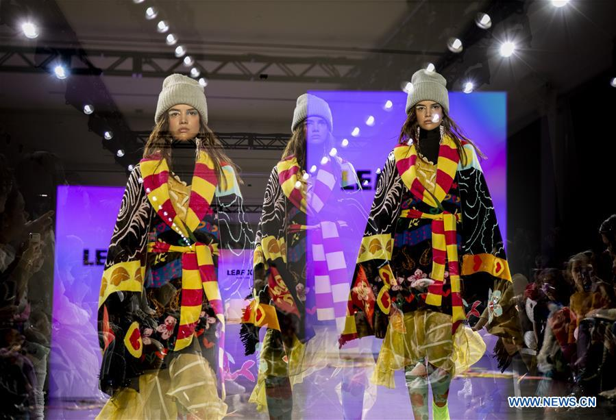 Young Chinese Designer Makes New York Fashion Week Debut 3 People S Daily Online