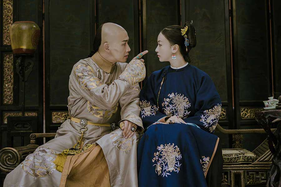 Romantic scenes from Chinese films and dramas (7) - People's