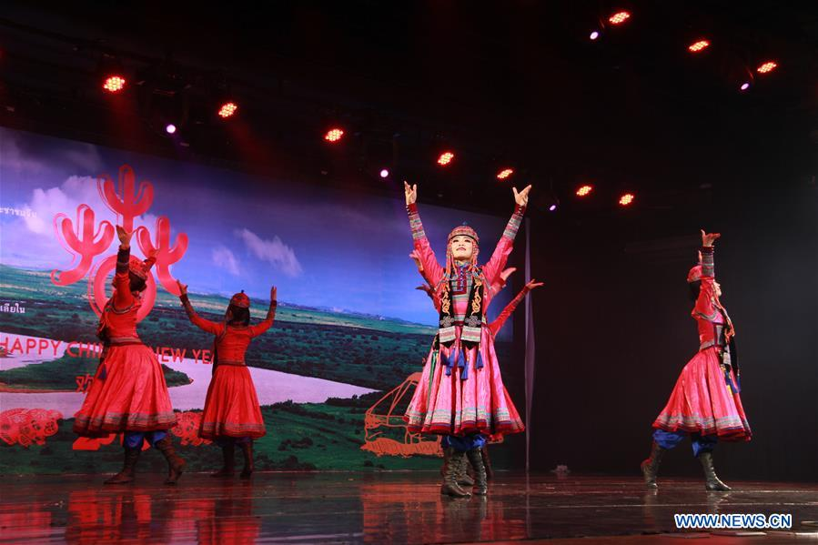 China's Inner Mongolia songs, dancing brought to show in Thai capital