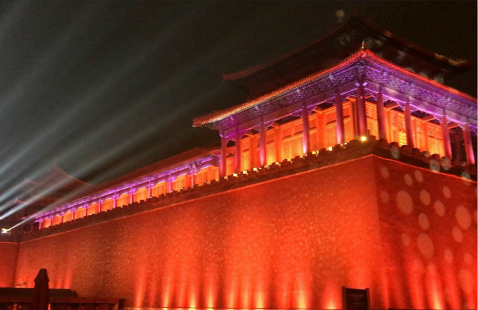 Palace Museum shines bright for China's Lantern Festival