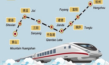 Journeys on China's high-speed rail