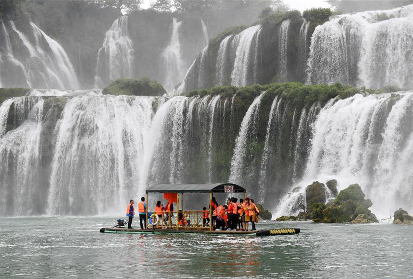 Detian Waterfalls in south China's Guangxi