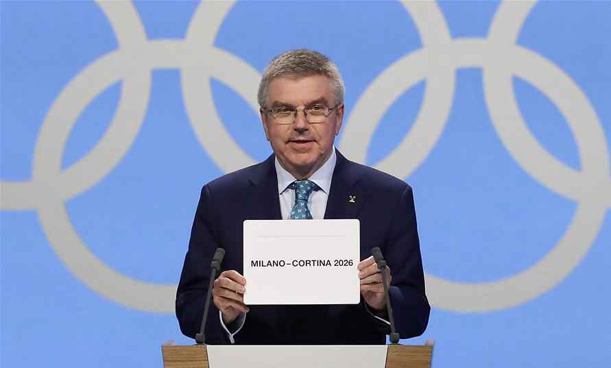 Italy's Milan/Cortina elected host of 2026 Winter Olympic Games