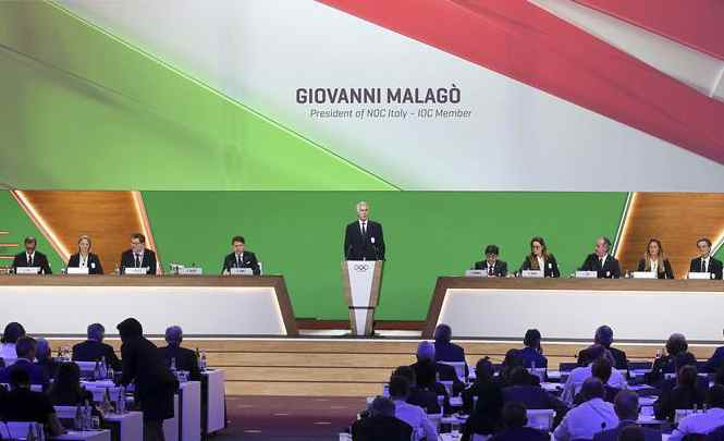 Italy makes final presentation in bid for 2026 Winter Olympics