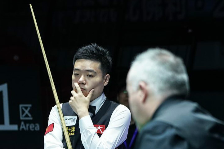 China A loses to Scotland 1-4 at 2019 Snooker World Cup semifinal match