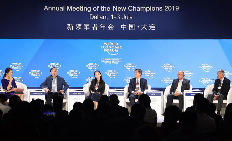 Highlights of China energy outlook panel during Davos