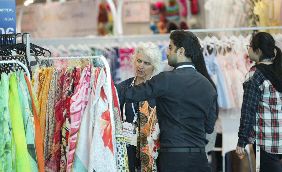 20th China textile & apparel trade show in New York opens