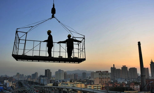 China's construction industry grows rapidly since 1949