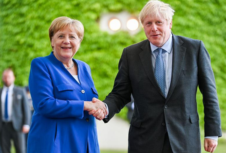 Britain, Germany agree on Brexit with deal, differ on approaches