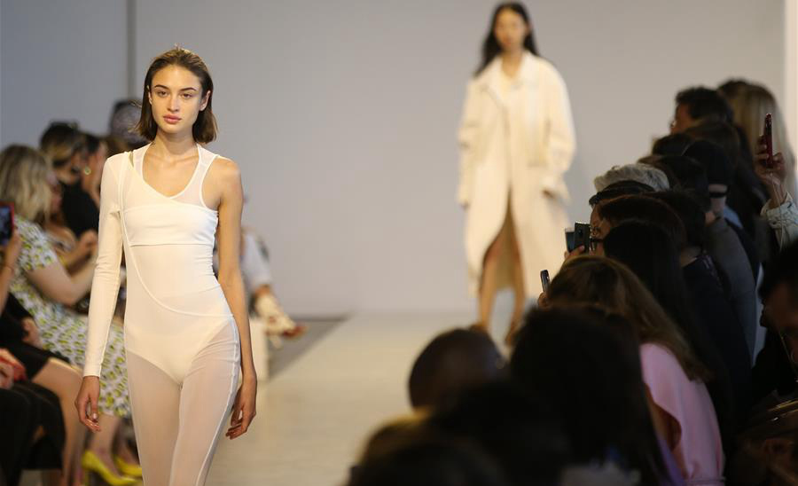 Chinese brand Threegun presents creations in New York Fashion Week