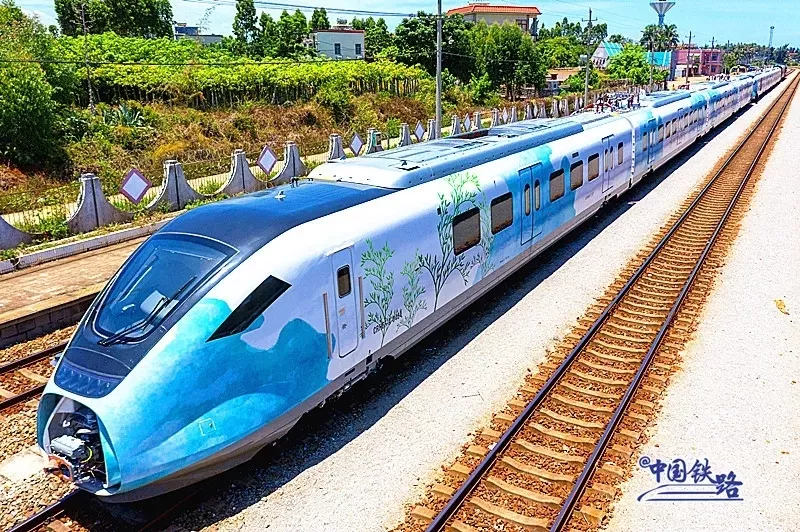 New coatings for Haikou high-speed commuter trains unveiled