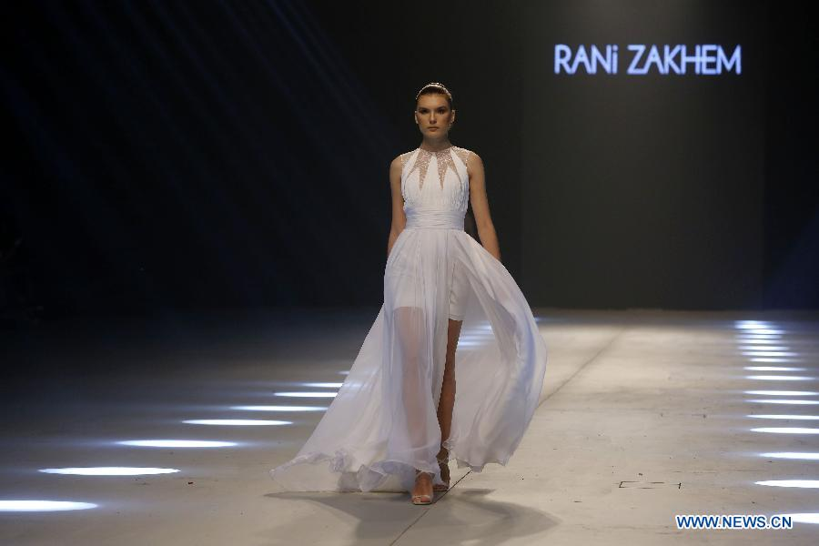 """Designers & Brands"" fashion show held in Beirut, Lebanon"
