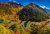 Hi, I am China: Jiuzhaigou National Park in southwest China's Sichuan province