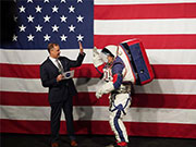 NASA unveils new spacesuits for human lunar landing
