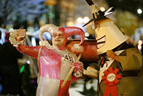 Annual Halloween Parade held in Chicago, U.S.