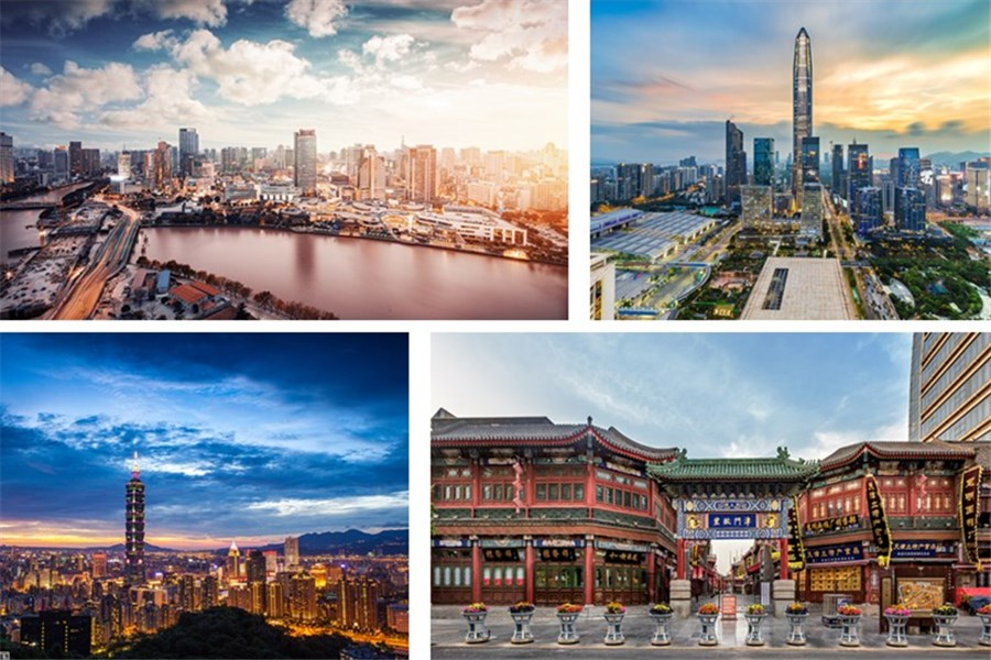 Top 10 cities where China's 'rich families' live