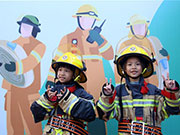 Fire safety education event held in Xiamen, SE China's Fujian
