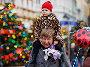 In pics: Christmas atmosphere across world