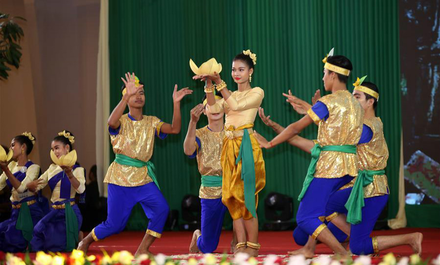 Cambodia marks Culture Day with traditional arts performance