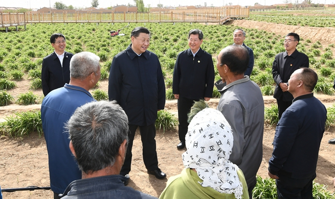 Xi inspects north China's Shanxi Province