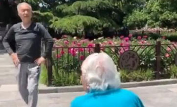 Video of 68-year-old college professor dancing for his mom goes viral