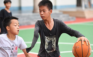 One-armed boy closer to his basketball dreams