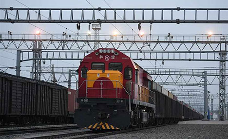 China-Europe freight trains play crucial role in pandemic fight