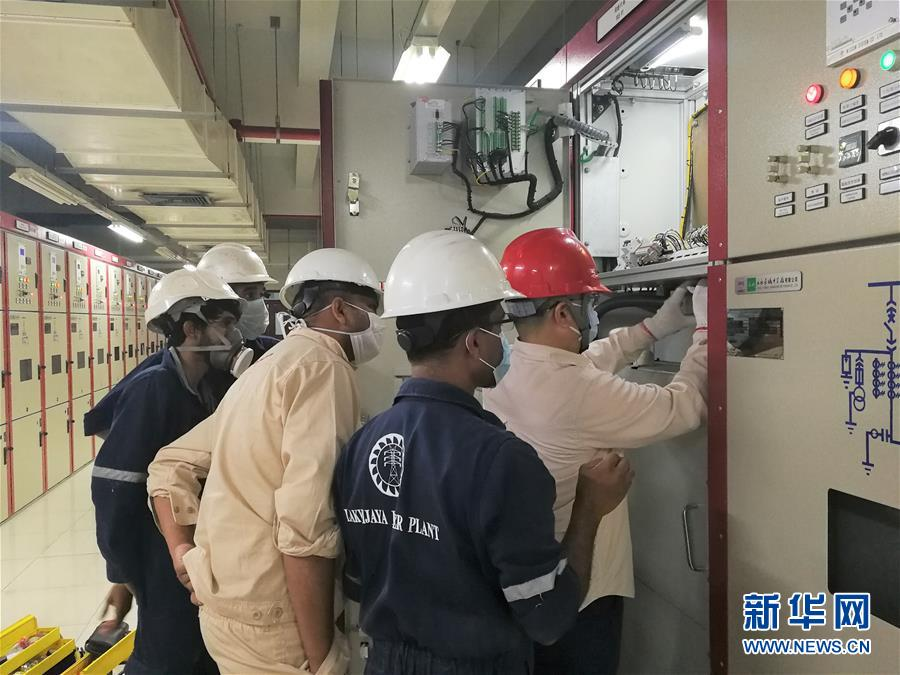 Chinese technicians committed to keeping power supply going in Sri Lanka amid COVID-19