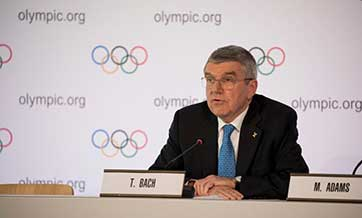 Beijing 2022 preparations on track, says Bach