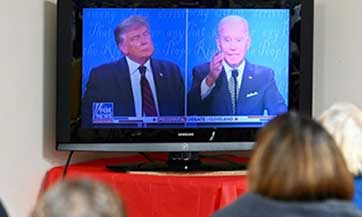 Organizers mull change to format after chaotic Trump-Biden debate