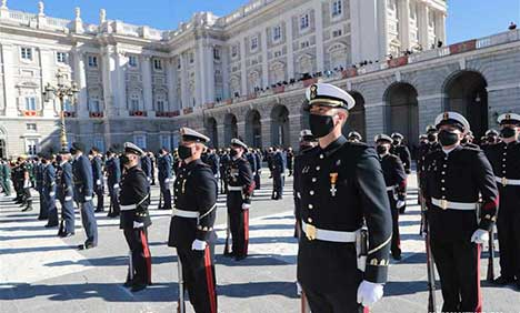Spain marks austere National Day