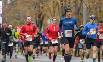 Runners compete in Vienna City Marathon Tribute to Eliud - Vienna Race
