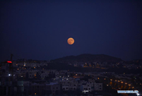 In pics: full moon seen across world