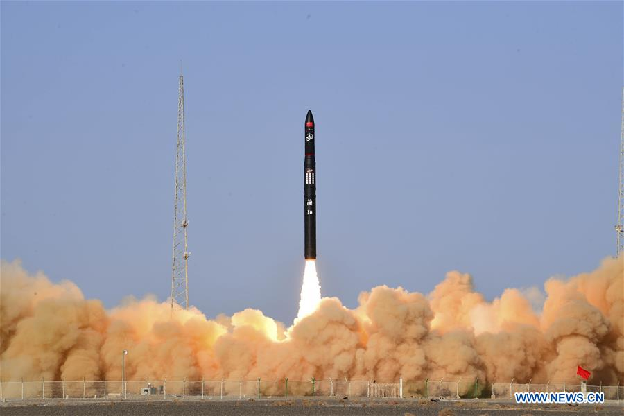 China's commercial rocket CERES-1 completes maiden flight