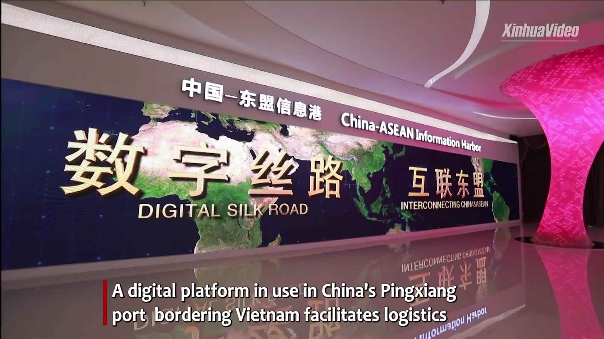 China-ASEAN digital economy cooperation boosts trade connectivity