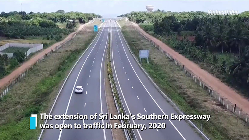 Chinese-built Sri Lanka's expressway extension benefits locals