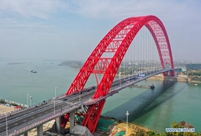Third Pingnan Bridge in Guangxi opens to traffic